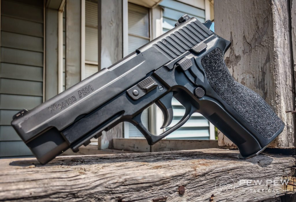 Sig P226 looking awesome