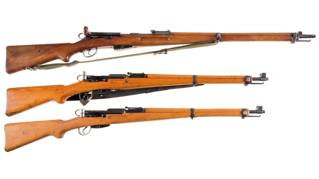 Swiss Rifles, 1911 and K31