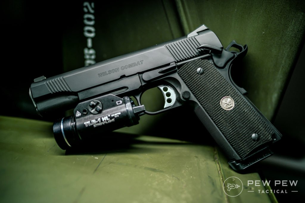 Wilson Combat CQB with Rail and TLR-1 HL