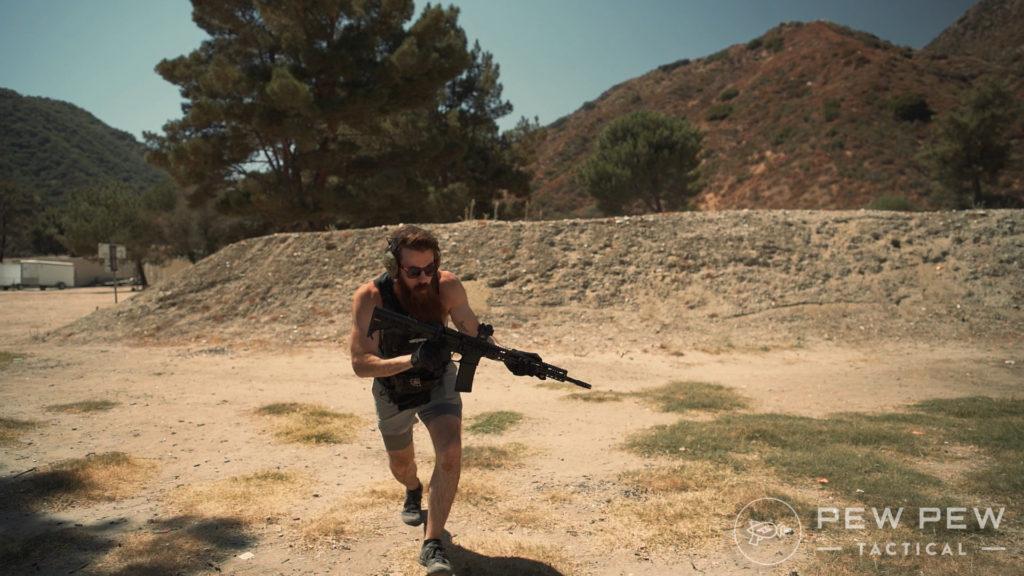 Running Around Very Fast on the Range
