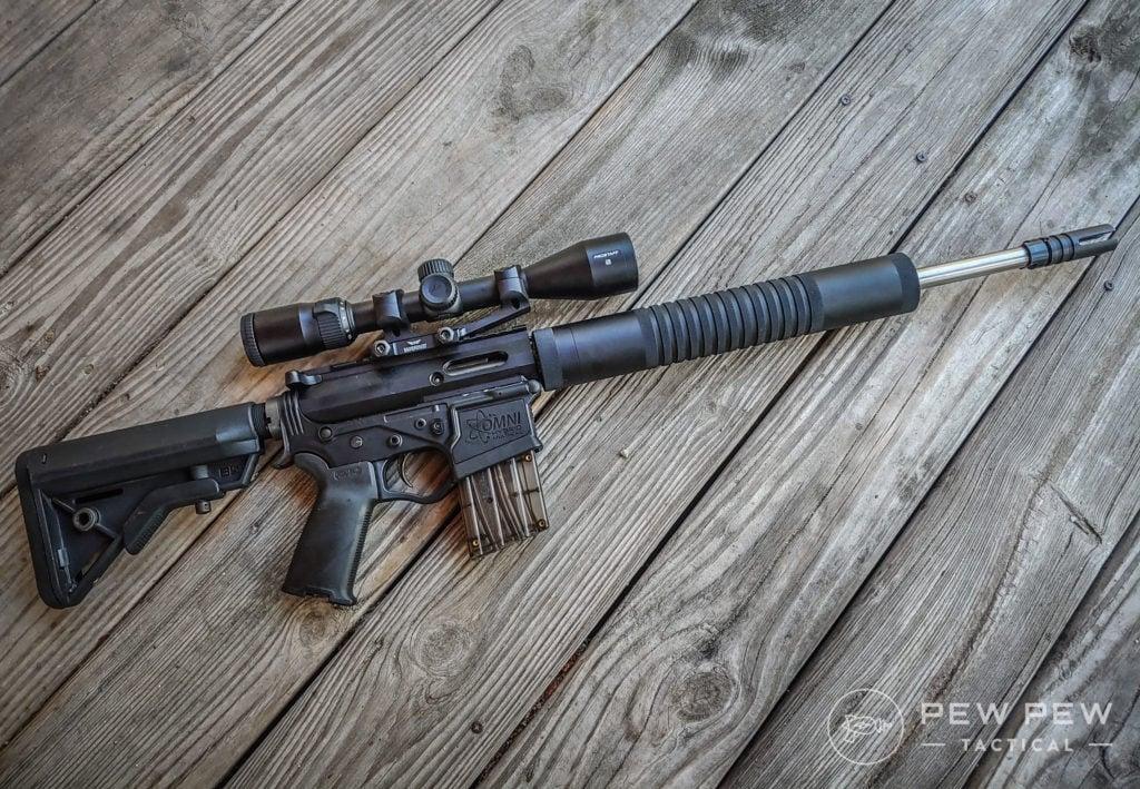 Garrow Arms 17 HMR Whole Side