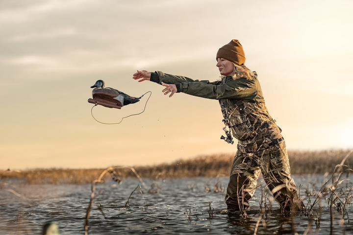 LaCrosse's waders are also well-made and good performers, plus they keep you nice and warm. (Photo courtesy: Realtree)