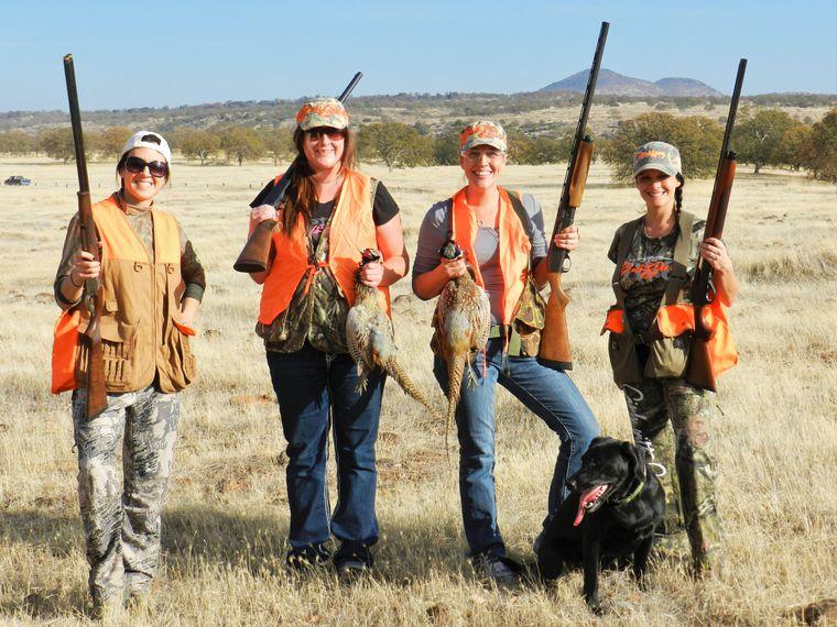 Pheasant Hunting Women