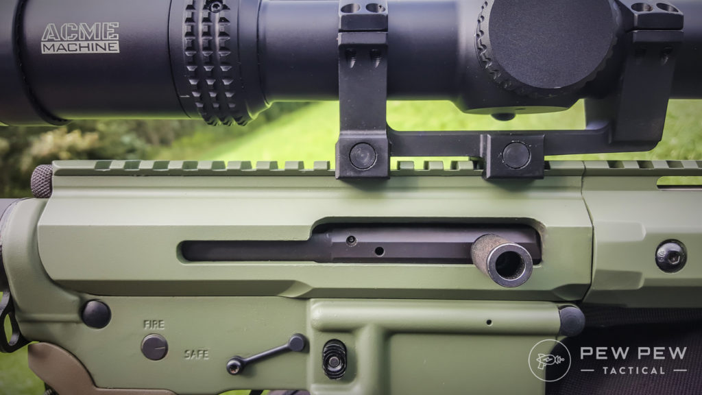 Quality for the upper receiver is on par for the price and works for its role