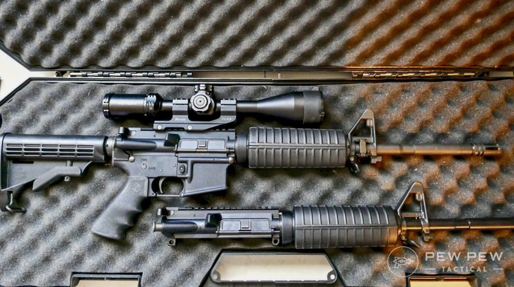 Riton Scope on Rock River Arms rifle and Palmetto State Armory Freedom Upper Ready For Testing
