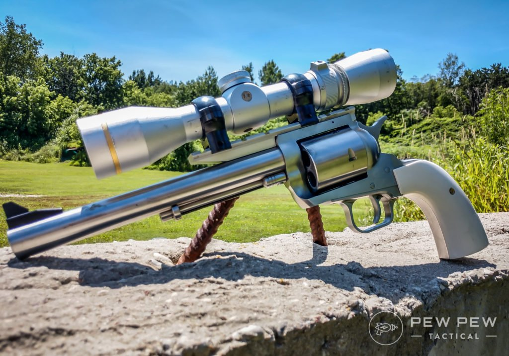 The Magnum Research BFR in .50 Linebaugh is definitely an effective hunting revolver (and it's fun, too)