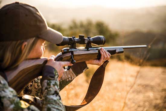 Weatherby Vanguard Camilla hunting