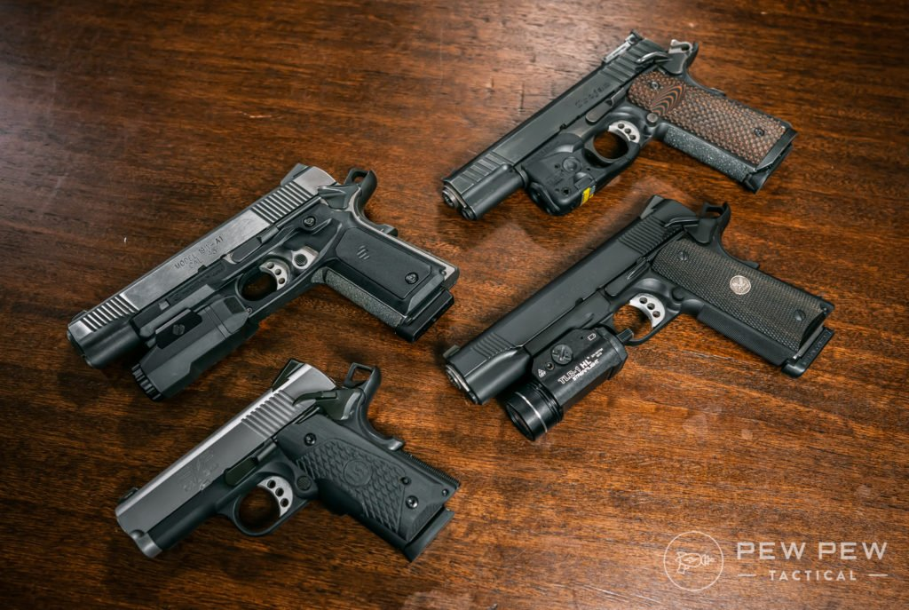 1911s with Lights & Lasers