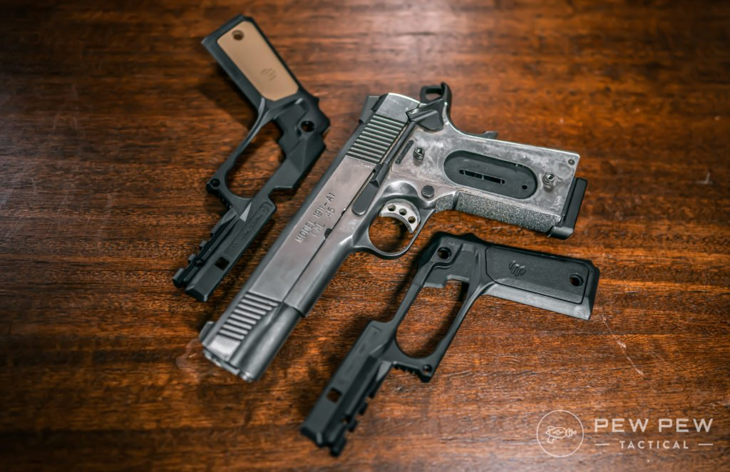 Recover Tactical 1911 Grips, Open