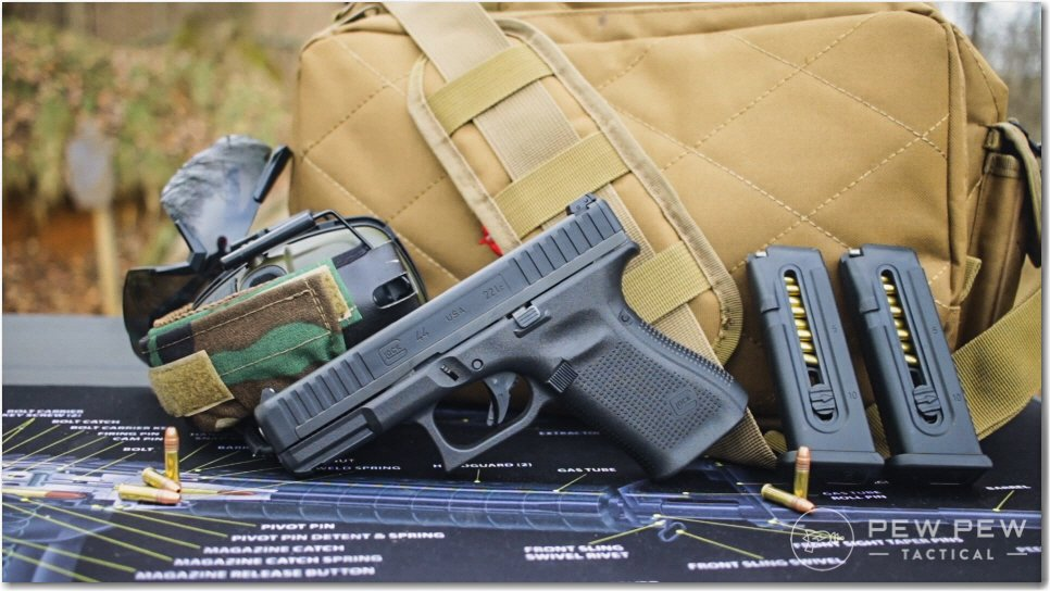 Glock 44 at the Range