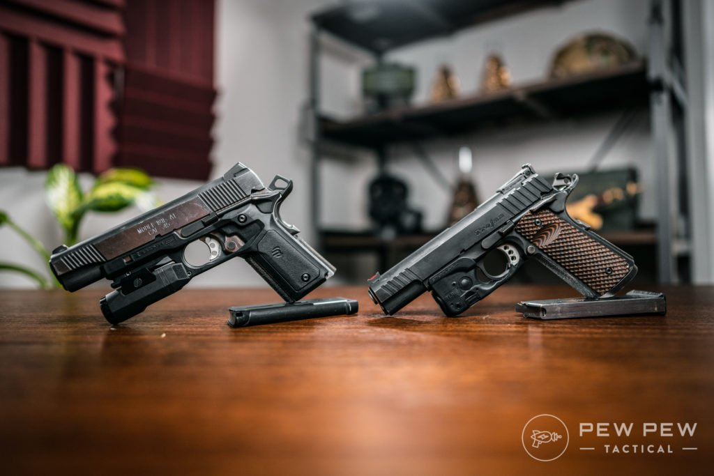 1911s with TLR-6 and Recover Tactical Grips