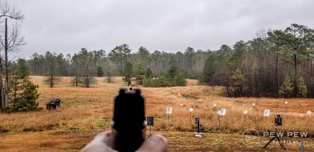 Glock 44 to 100 Yards