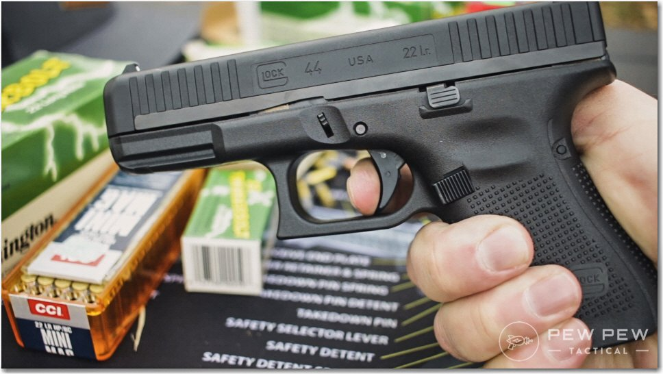 Glock 44 with Ammo