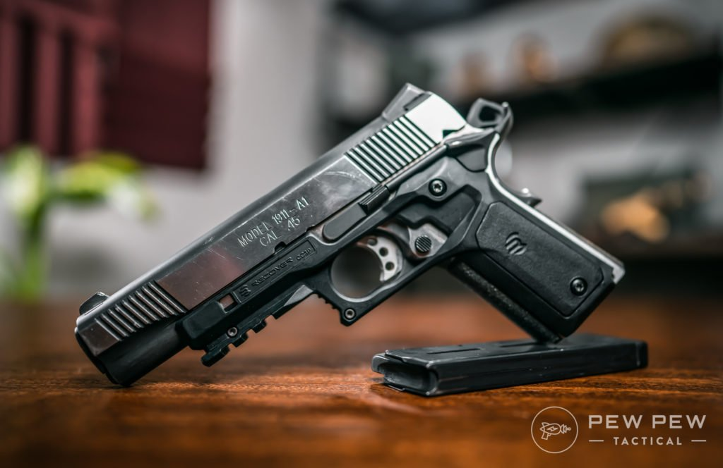 Springfield Loaded with Recover Tactical Grips