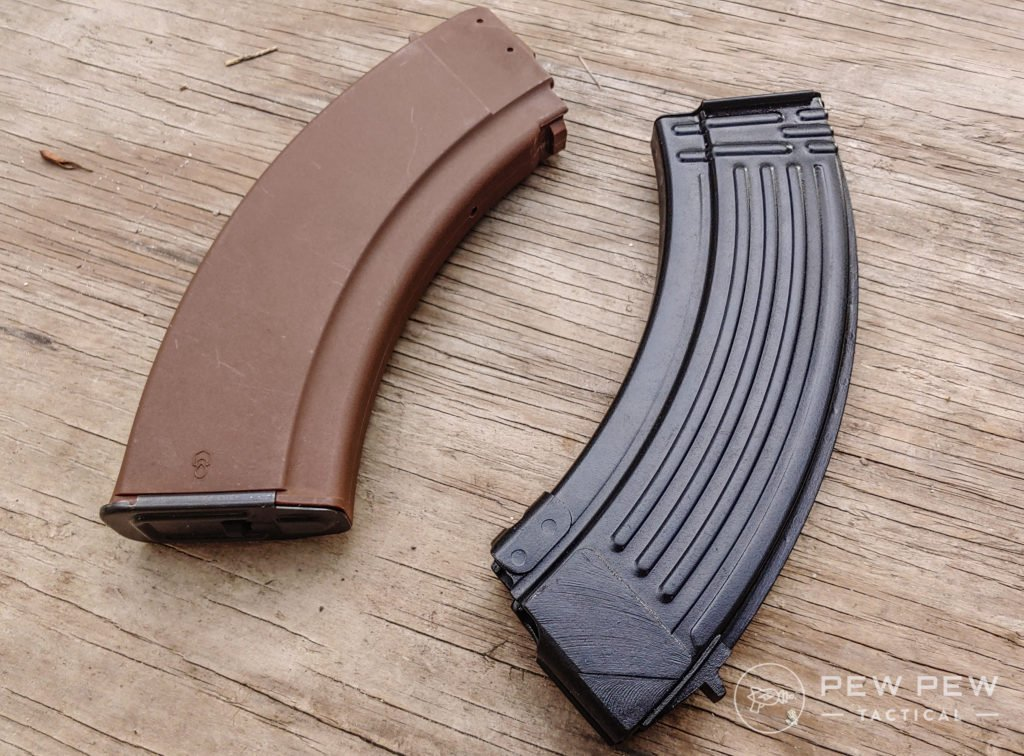 Bulgarian AK Magazines - poly and steel