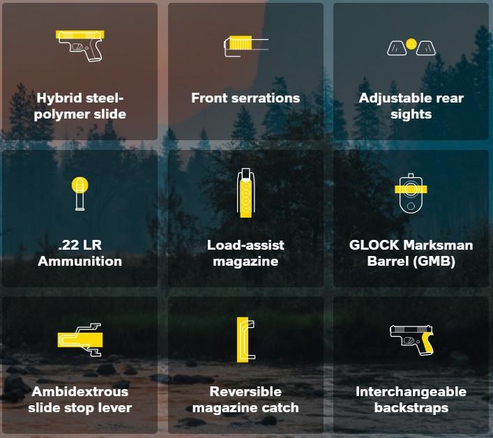 Glock 44 Features