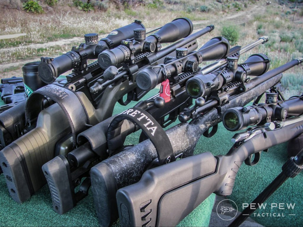 A herd of long-range rifles means a good day no matter where you are!
