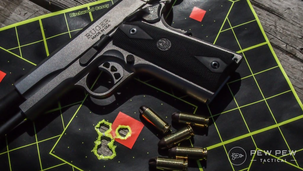 I admit it, Inceptor's 10mm 90 grain ARX is a favorite of mine. It's a favorite of the Ruger SR1911s, too.