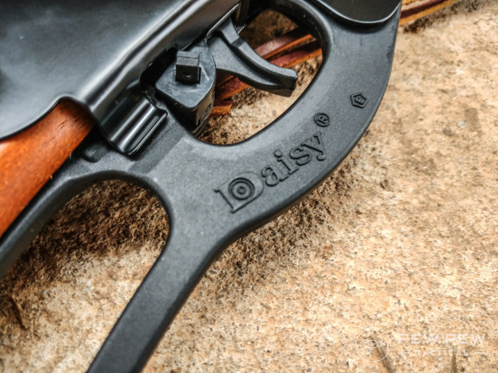 I found the trigger on the Daisy Red Ryder Model 1938 to be surprisingly good for the price point. Sure, it's a BB gun trigger, but it gets the job done nicely
