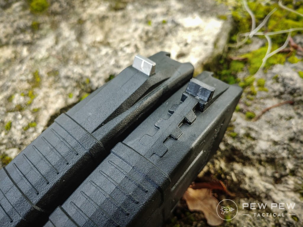 PMAG AK Mags, gen 2 and gen 3 locking lugs