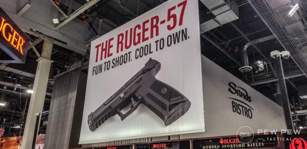 Ruger 57 Slogan
