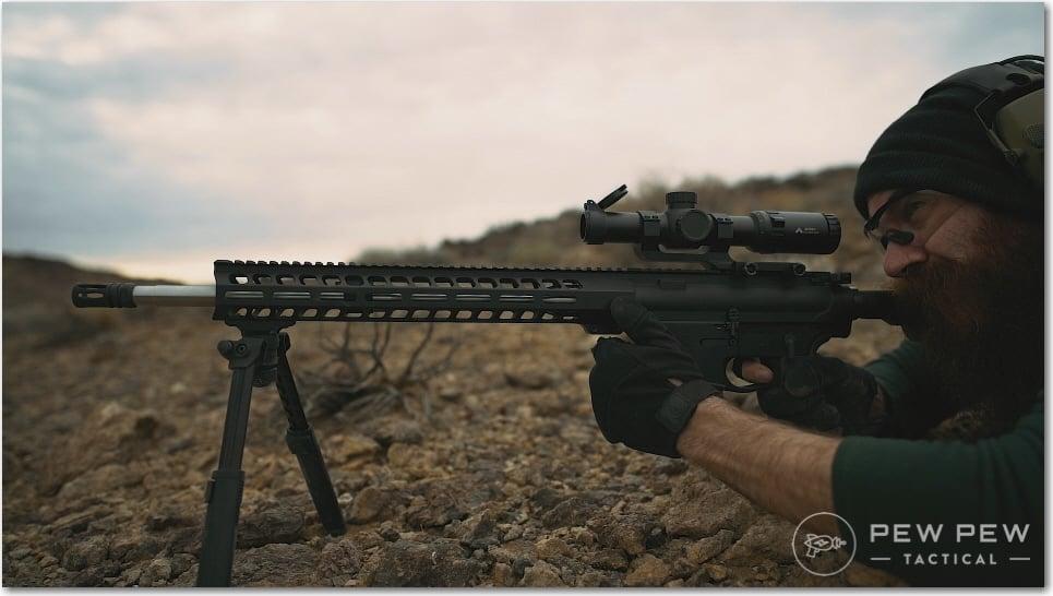 PSA AR-10 Gen 3 with Magpul Bipod