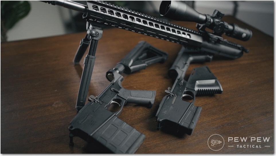 PSA AR-10 Gen2 & Gen 3 Lowers