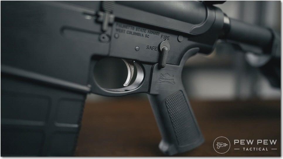 PSA AR-10 Two-Stage NiB Trigger