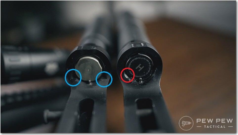 PSA AR-10 Gen 3 Lower BCG Cuts