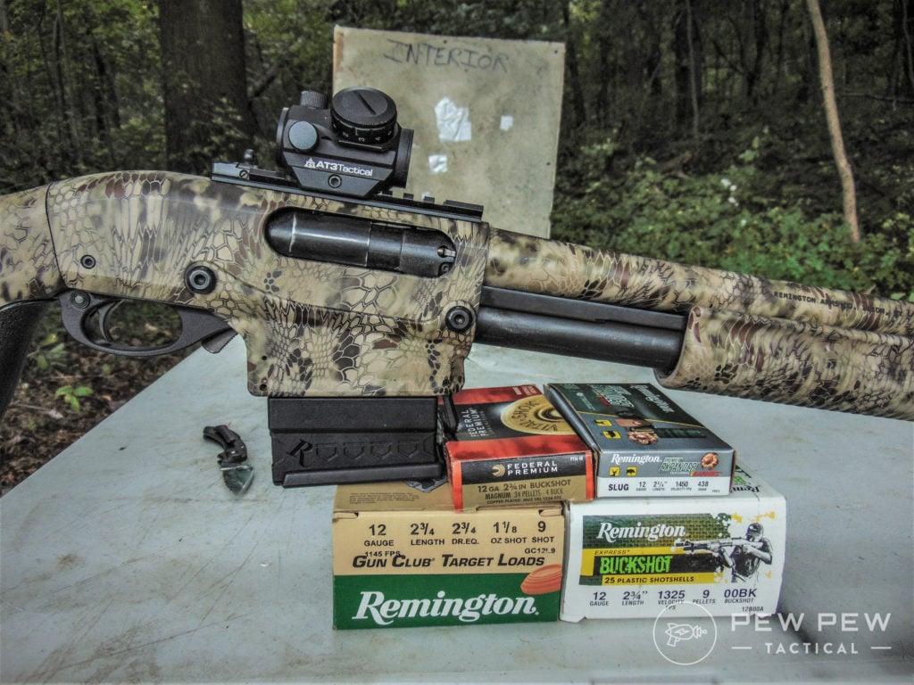 HD Overpen test 870 shotgun and ammo