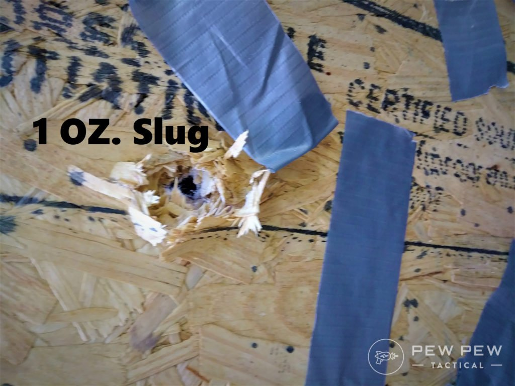 HD overpen test slug ex wall