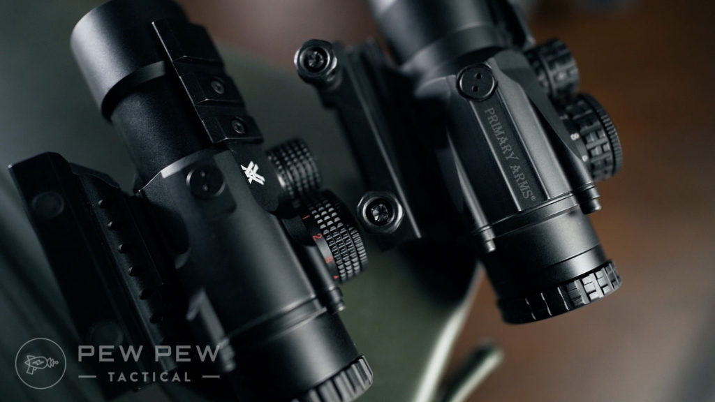 Primary Arms SLx3 Prism Vortex Spitfire Comparison