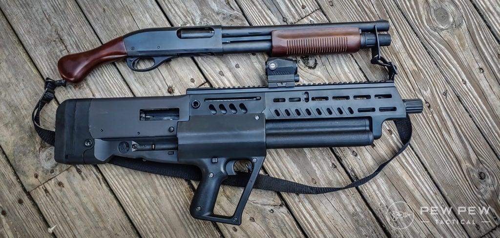 Tavor Shotgun vs shockwave
