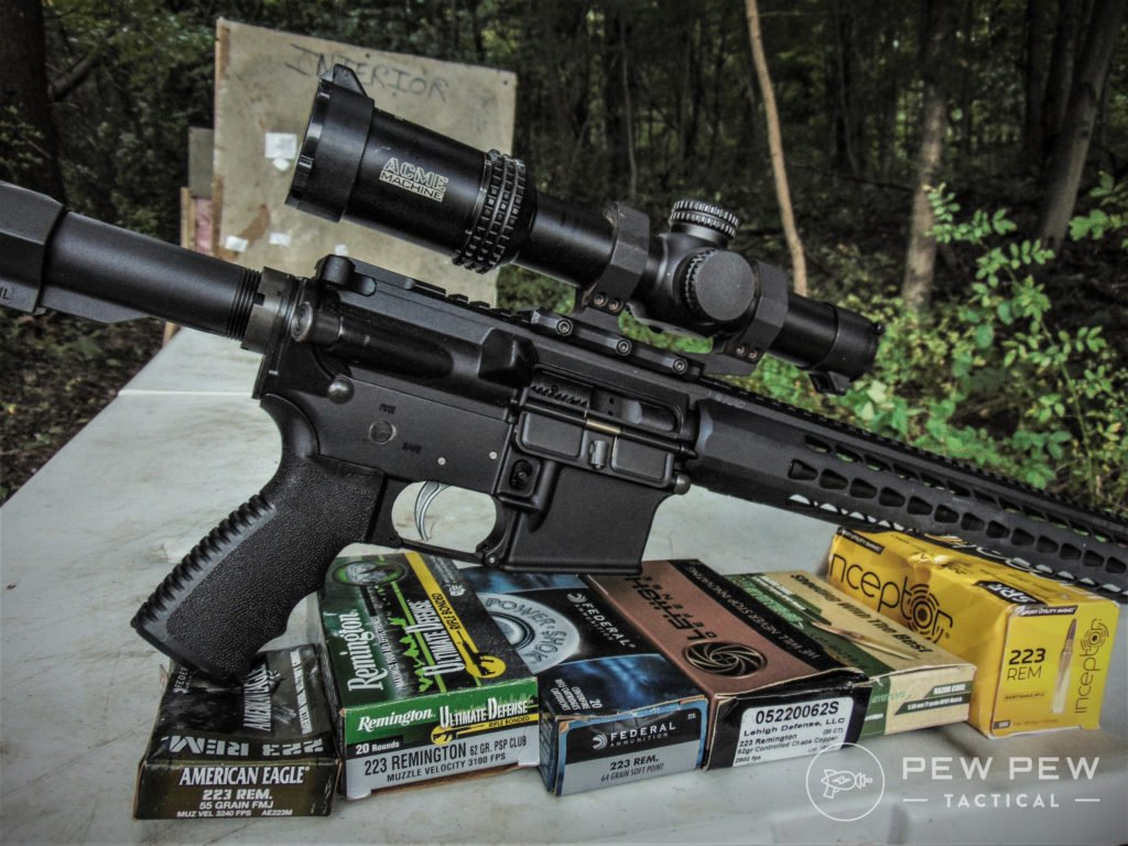 hd overpen testing 5.56 rifle