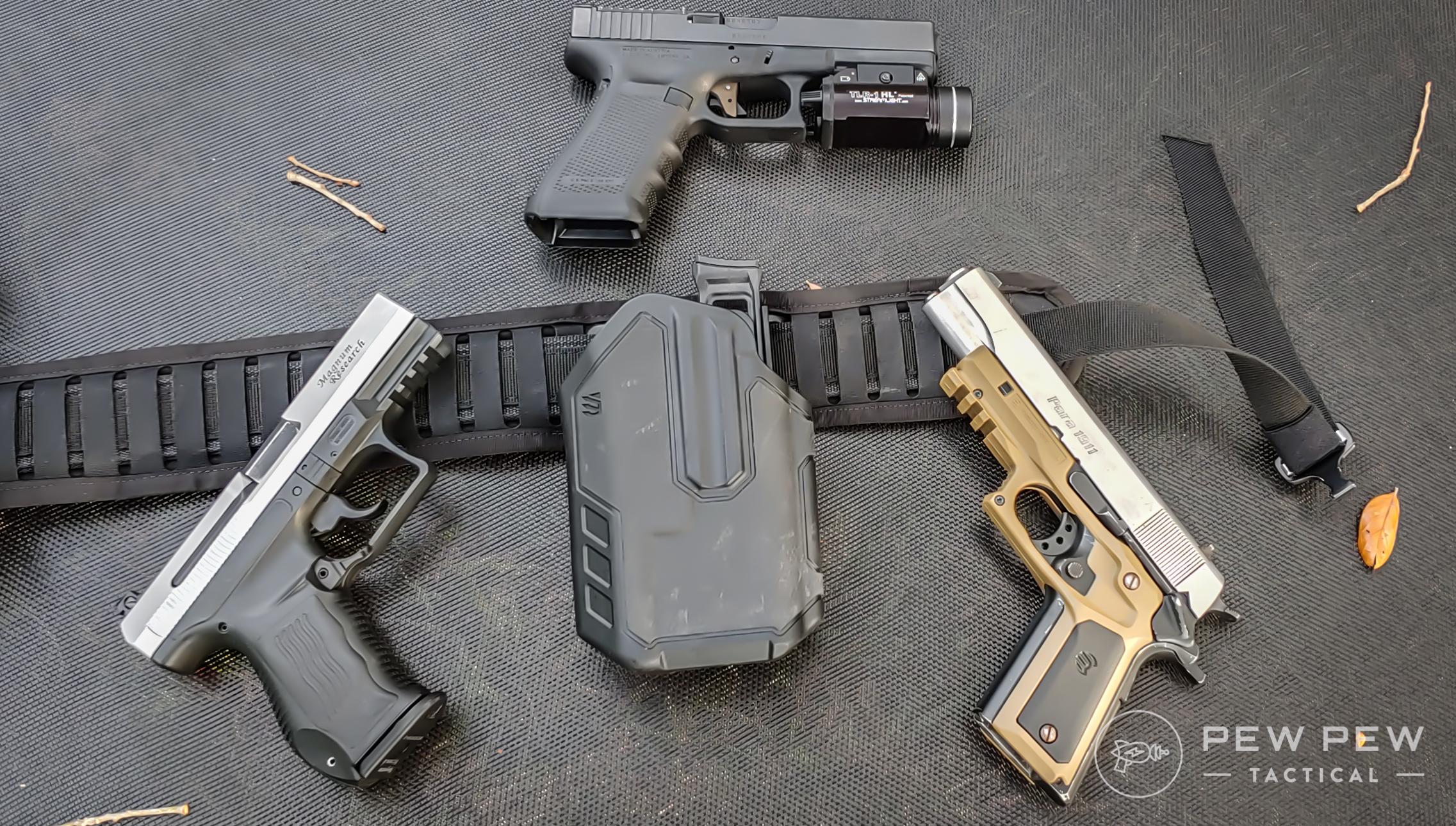 Tactical Concealed Pistol Holster Adjustable Leg Ankle Handgun Holder Pouch J
