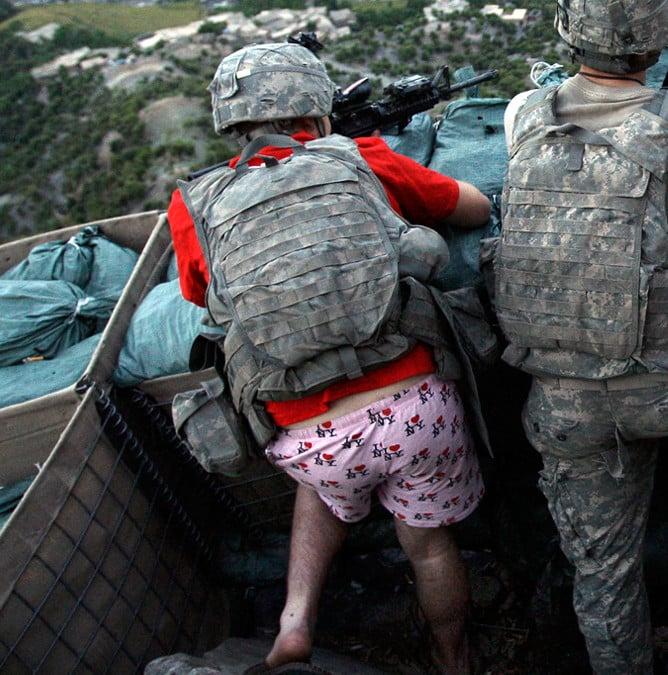 Army specialist Zachary Boyd gets it.