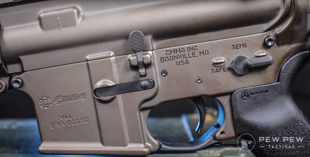 CMMG lower side