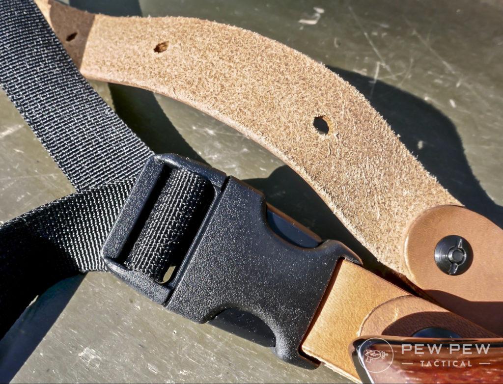 Diamond D torso adjustment strap
