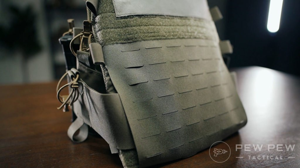10. RE Factor Tactical Advanced Slickster Rear Plate Bag