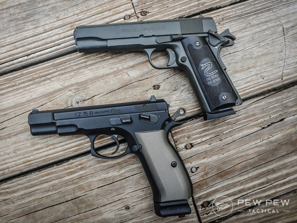 Condition 1 1911 and CZ-75