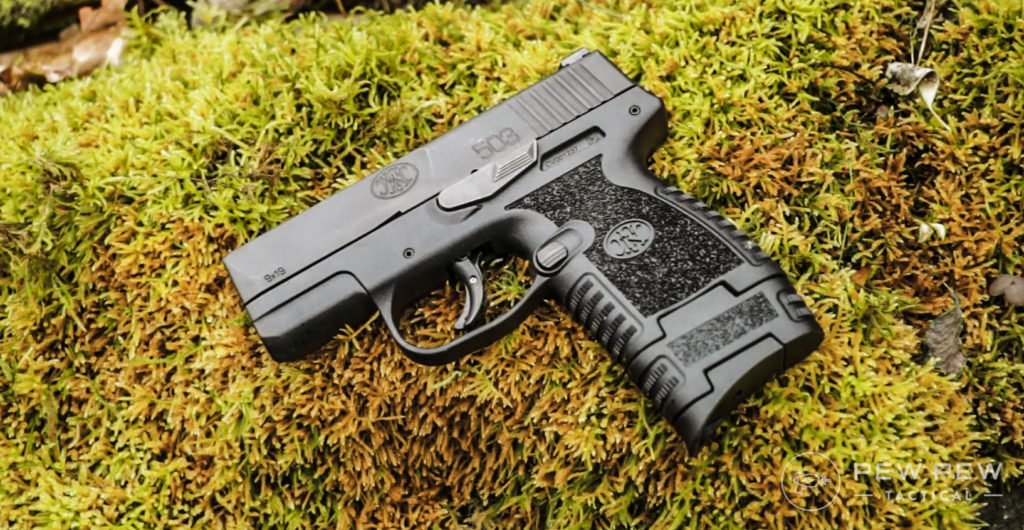 FN503 on some moss