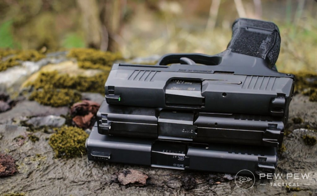 FN503 stacked up with p365 and g43