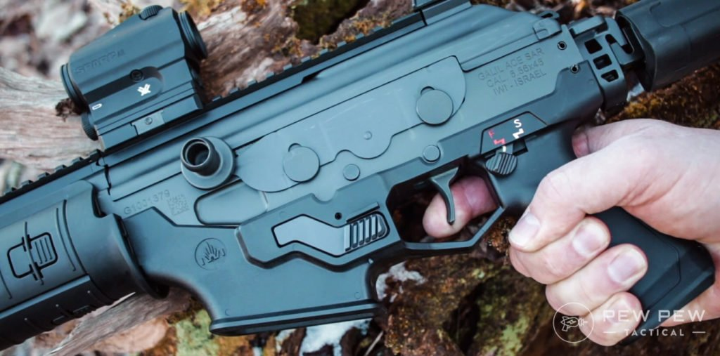 Galil ACE controls and dust cover