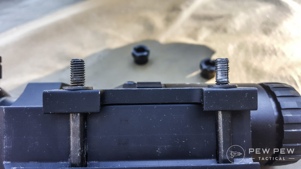 PA 1-8x mount screw