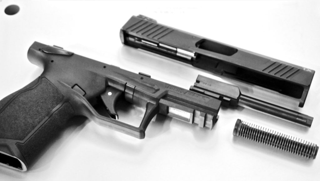 The Taurus TX22 is a decent little starter pistol in .22 LR.