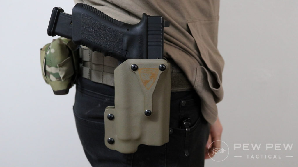 DSG Holster with Glock 17
