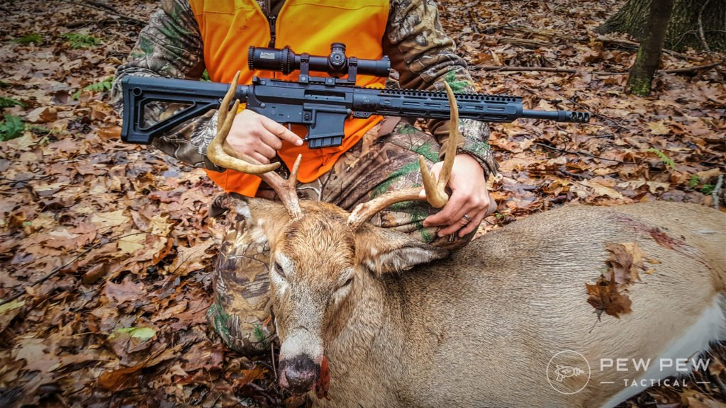 350 faxon legend and a dead deer