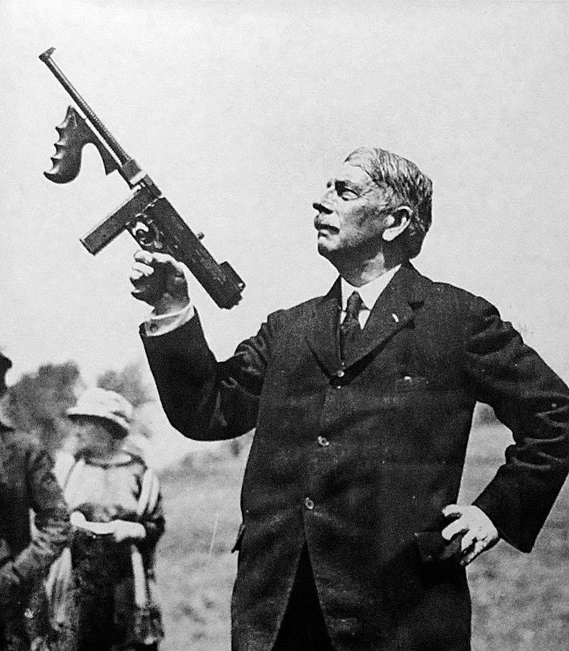 Thompson and his gun
