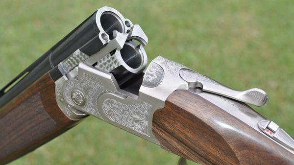 Beretta 686 Silver Pigeon I Sporting Shotgun action