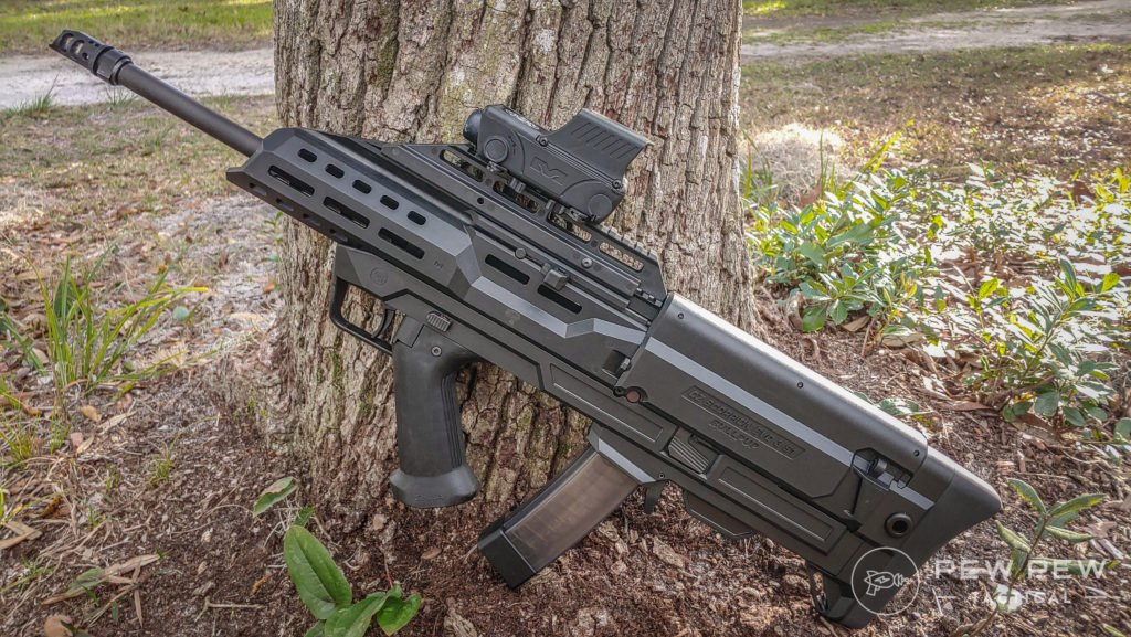 Bullpup Scorpion and Meprolight Foresight in the wild